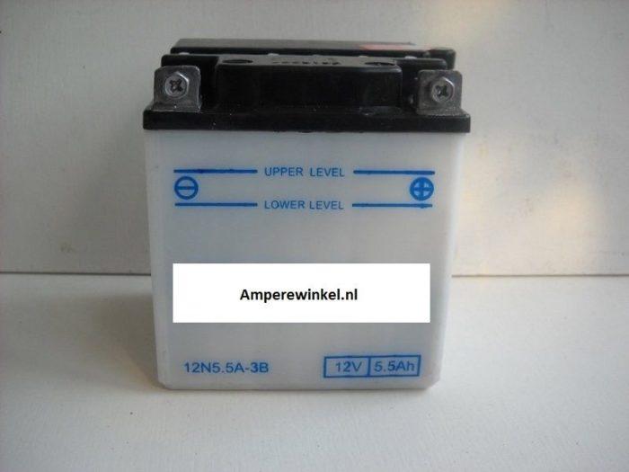 Motor accu 12 Volt 5,5 Ah + pool rechts 12N5,5A-3B-0