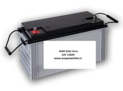 Beaut 120Ah 12V AGM Solar Accu - Accu voor Zonnepanelen / 10 uur / 1600 Cycli!-0