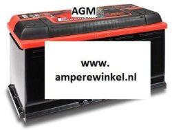 AGM accu 12 VOLT 95 AH + RECHTS-0