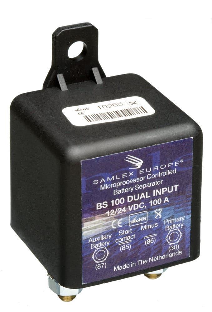 Accuscheider Intelligent Relais (Diodebrug) 80 Ampère BS100-12V / 24V-0