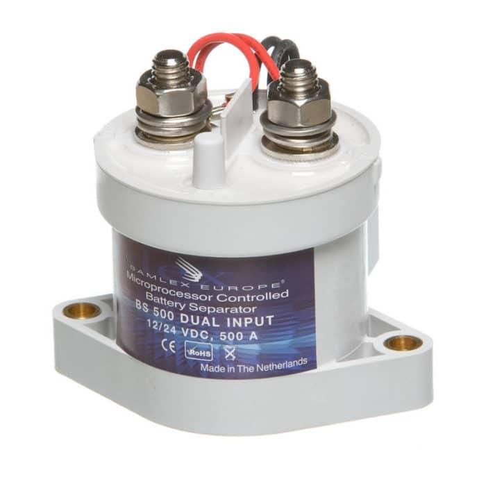 Accuscheider Intelligent Relais (Diodebrug) 250 Ampère BS500-12V / 24V-0