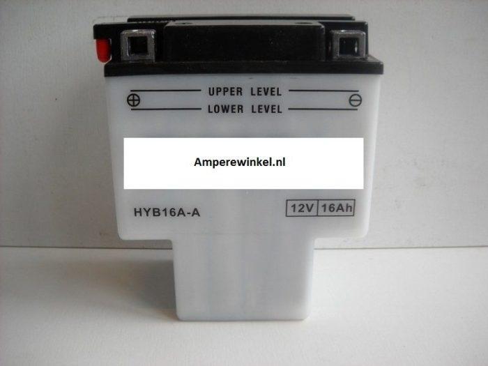 Motor accu 12 Volt 16 Ah + pool links HYB16A-A-0