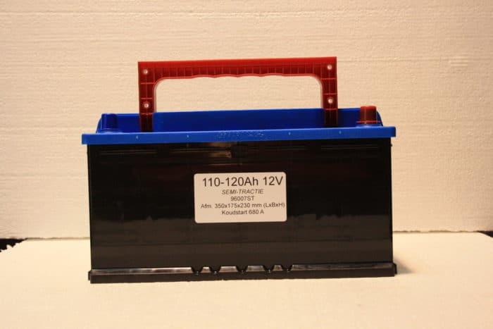 Complete Set + 160W 12V Daglichtpaneel GradeA+ / Zonnepaneel + Solar Accu 100Ah 12V-71