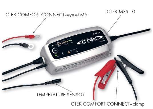 Ctek XS MXS 10 12 Volt 10 Ampere Nieuwste generatie zware acculaders-362