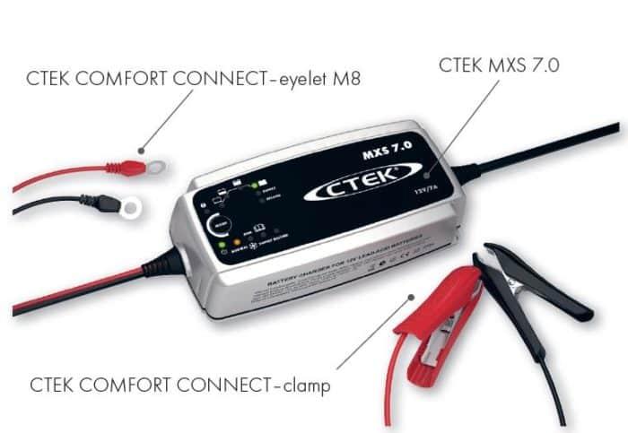 Ctek XS MXS 7.0 12 Volt 7 Ampere Nieuwste generatie zware acculaders-366