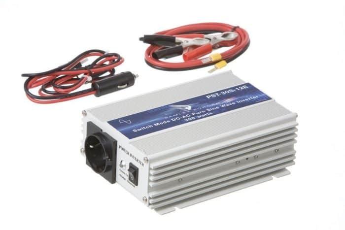 Samlex PST-30S-24E 300W 24V Continu Zuivere Sinus Omvormer (600W Piekvermogen)-0
