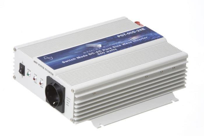 Samlex PST-60S-24E 600W 24V Continu Zuivere Sinus Omvormer (1200W Piekvermogen)-0