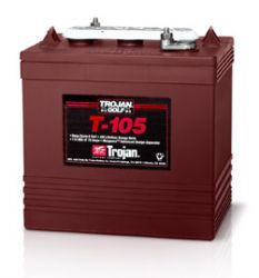 Trojan Deep Cycle accu 6 Volt 225 Ah (T-105)-0