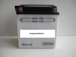 Motor accu 12 Volt 11 Ah + pool rechts YB10L-A2-0