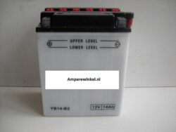Motor accu 12 Volt 14 Ah + pool links YB14-B2-0