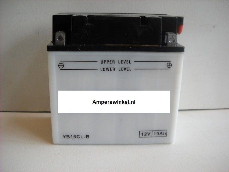 Motor accu 12 Volt 19 Ah + pool rechts YB16CL-B-0