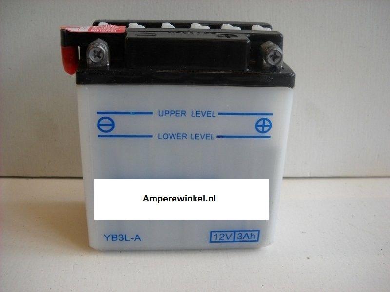 Motor accu 12 Volt 3 Ah + pool rechts YB3L-A-0