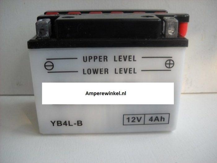 Motor accu 12 Volt 4 Ah + pool rechts YB4L-B-0