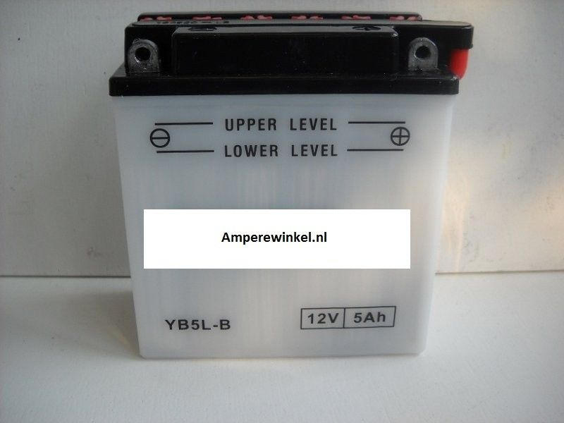 Scooter accu 12 volt 7Ah + pool rechts YTX7L-BS-0
