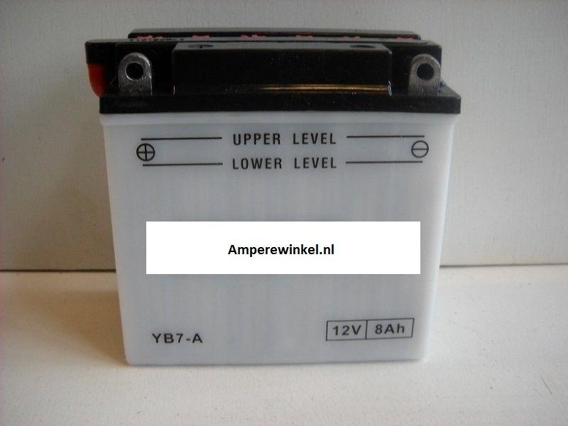 Motor accu 12 Volt 8 Ah + pool links YB7-A-0