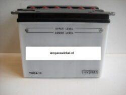 Motor accu 12 Volt 28 Ah + pool links YHD4-12-0