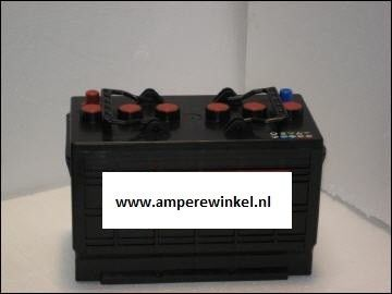 55lbs HASWING Fluistermotor / LUXE Electromotor + 100Ah 12V Semi-tractie Accu-1507