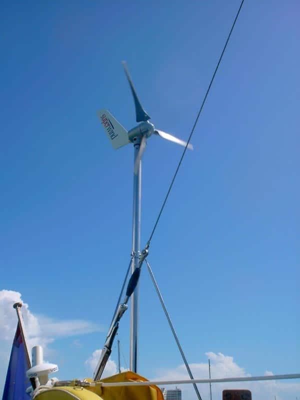Superwind SW350 - Stille windgenerator Windmolen 12 Volt en 24 Volt 350W-0