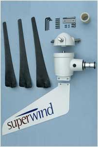 Superwind SW350 - Stille windgenerator Windmolen 12 Volt en 24 Volt 350W-1643