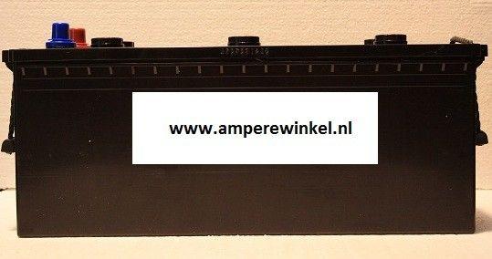 Complete Set + 130W 12V Daglichtpaneel GradeA+ / Zonnepaneel + Solar Accu 180Ah 12V-1810