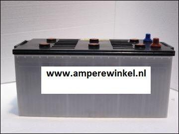 Complete Set + 130W 12V Daglichtpaneel GradeA+ / Zonnepaneel + Solar Accu 230Ah 12V-1822