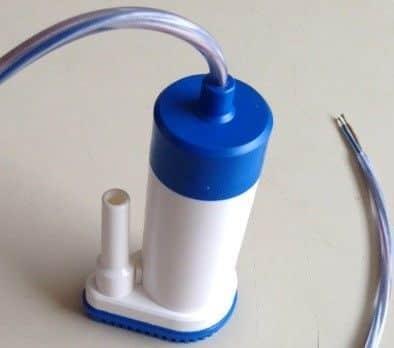 Electrisch waterpompje 12 Volt - 22 liter per minuut - energiezuinig-0