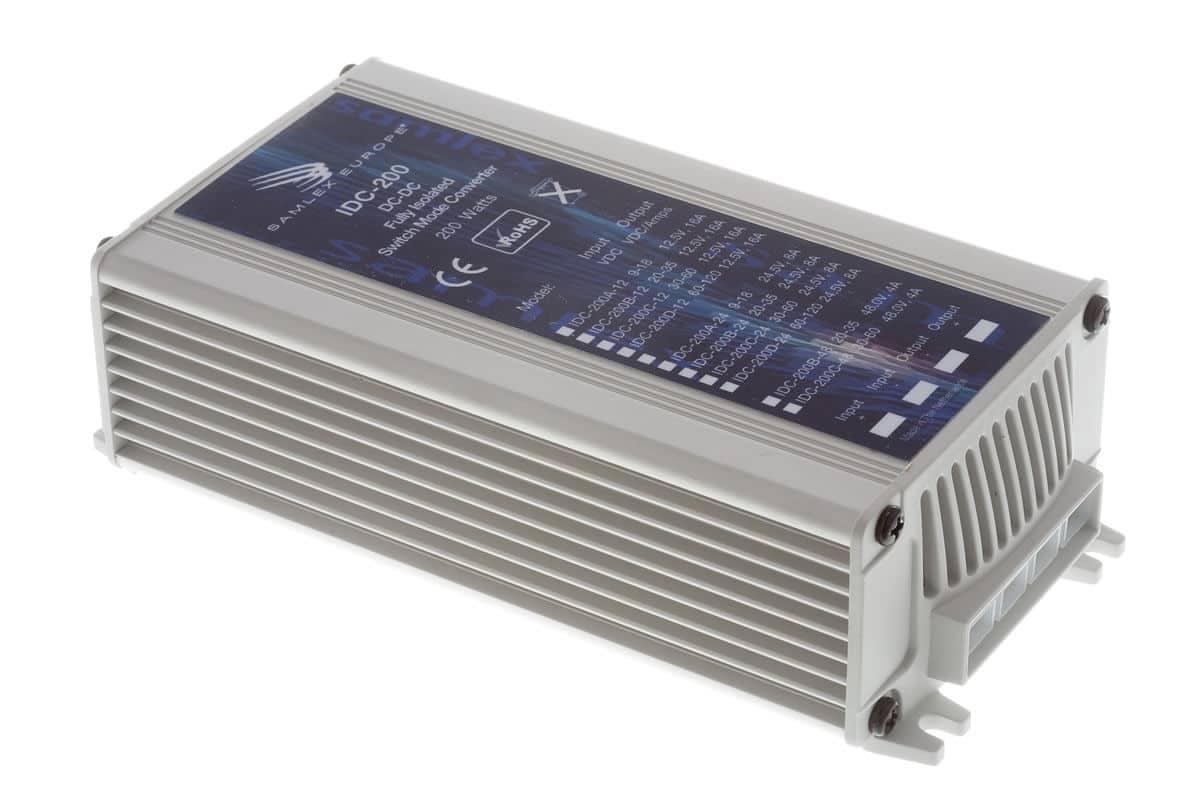 DC-DC Omvormer van Input 9-18 VDC naar Output 12,5 VDC / Samlex IDC 200A-12-0