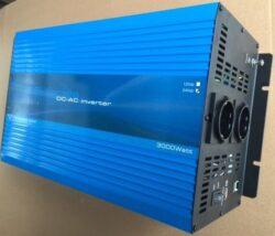 3000W 12V Continu Zuivere Sinus Omvormer (6000W Piekvermogen) + Kabels-0