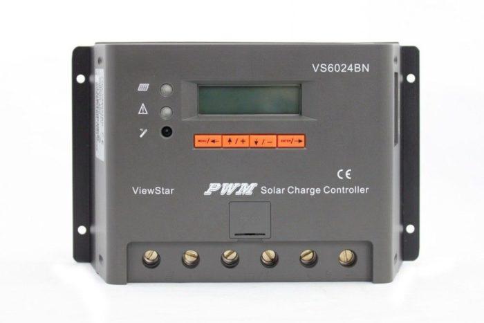Solar laadregelaar 60 Ampère 12V / 24 Volt met digitaal display-0