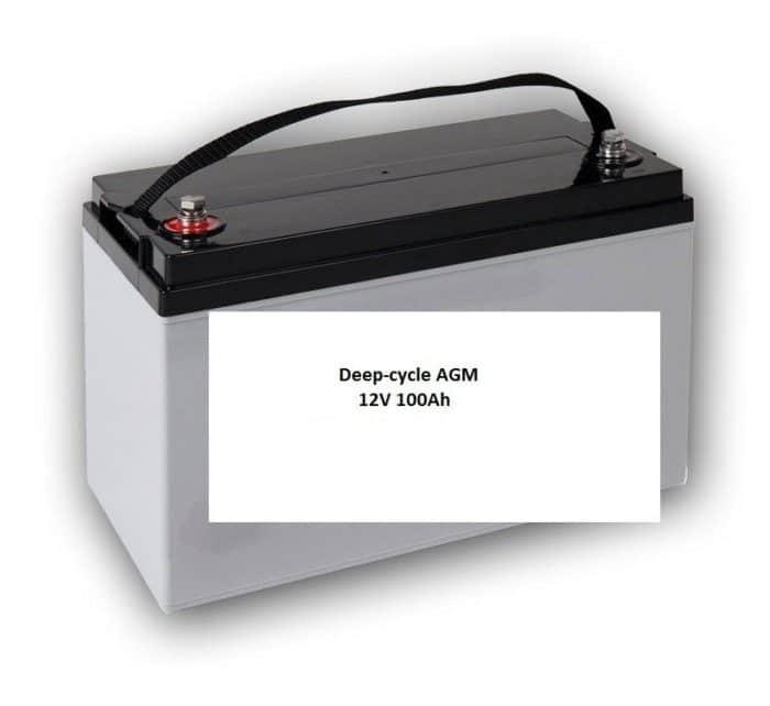 Technische installatie - energiesysteem Bestelwagen - 230V - 1000W / 2000W / 4000W - Pakket 2-2198