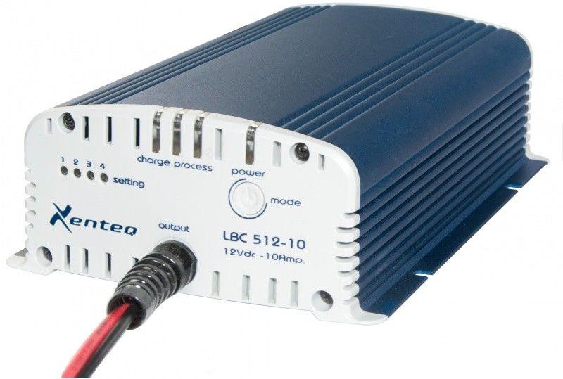Xenteq LBC 512-10S Acculader 12 Volt 10 Ampère-2224