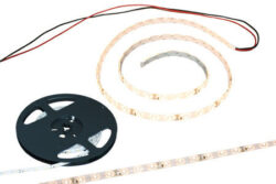 LED Strip Warm Wit 12 Volt 3m. met aansluitkabel en plakstrip -0