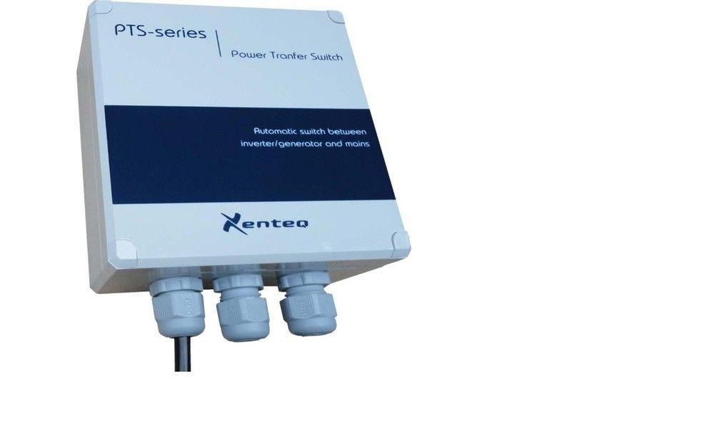 Omschakel Automaat - Relais Omvormer - Walstroom 230VAC / voor 12 Volt en 24V omvormers PTS 230-25-0