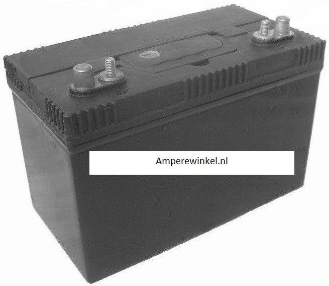 Semi Tractie Accu ( Start / Licht ) onderhoudsvrij 12 VOLT 125Ah Dubbele pool-aansluiting 62511ST 96002-0