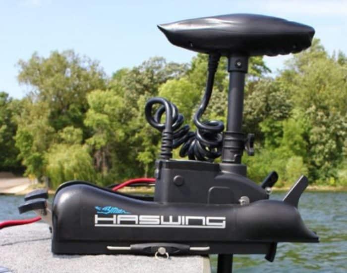 Haswing Cayman B55 Elektrische boegmotor fronttroller 12 Volt-0