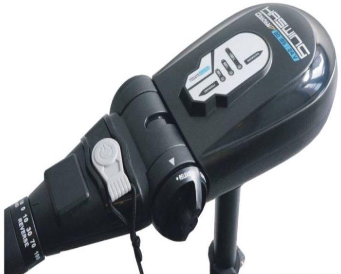 HASWING Osapian 80 Lbs Fluistermotor / Elektrische Buitenboordmotor 24 Volt-2386