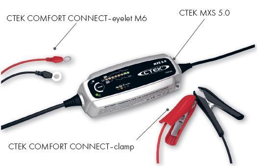 Ctek XS MXS 5.0 T 12 Volt 5 Ampere Nieuwste generatie acculader PALLET VOORDEEL-2492