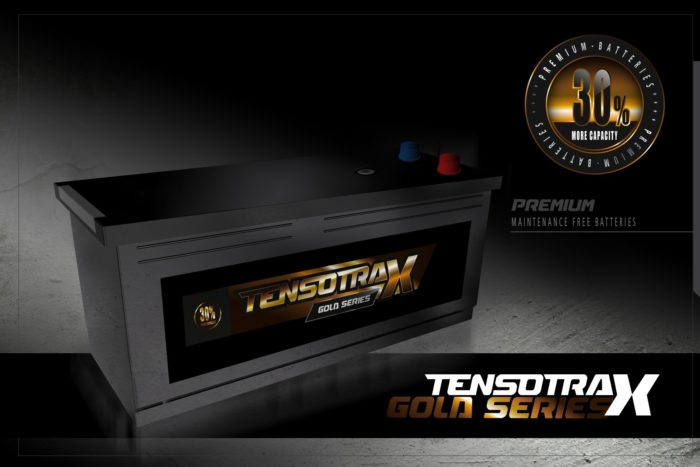 Semi Tractie Accu ( Start / Licht ) onderhoudsvrij 12 VOLT 230 Ah 73011 ST / 96801 / 96803 -0