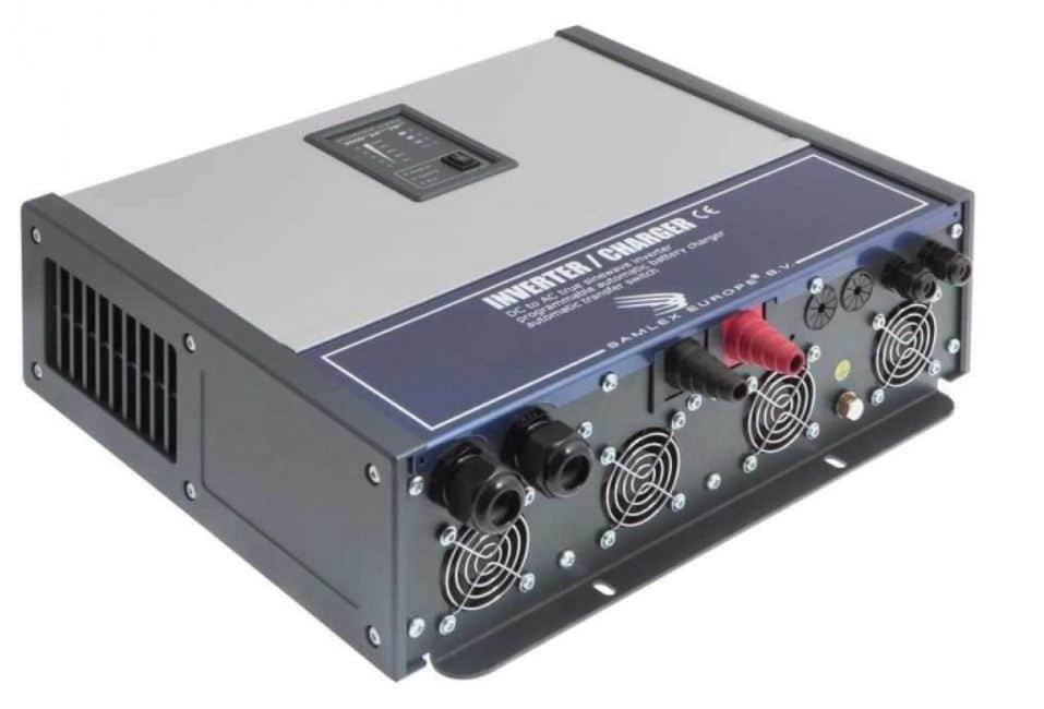 Samlex Powersine PSC 2500 24 50 Zuivere sinus omvormer acculader en automaat 24 VOLT-0