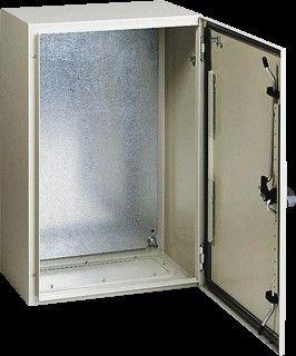 Stalen Electra kast, waterdicht voor buiten IP-66 H500 x B400 x D200mm-0