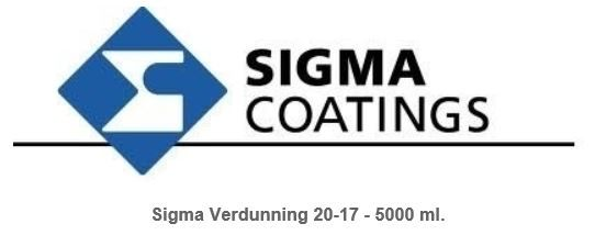 Sigma Thinner 20-17 5L-0