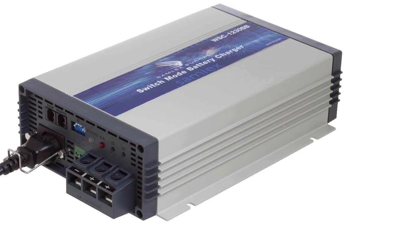 12V 15 Ampere Acculader Samlex SEC-1215E / WSC-1215 Europees-0