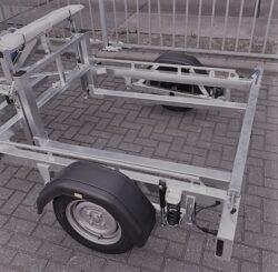 Aanhangwagen voor transport cameramast beveiligingsmast Maatwerk-0