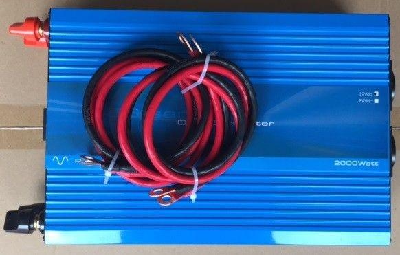 1500W 24V Continu Zuivere Sinus Omvormer (3000W Piekvermogen) + Kabels-3119