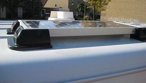 Complete Set + 65W 12V Daglichtpaneel GradeA+ / Zonnepaneel BEAUT SOLAR-0