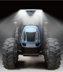 LED Werklamp Vrachtwagen Bestelwagen Trekker Heavy Duty 12V en 24V 1440 Lumen ip36k-0