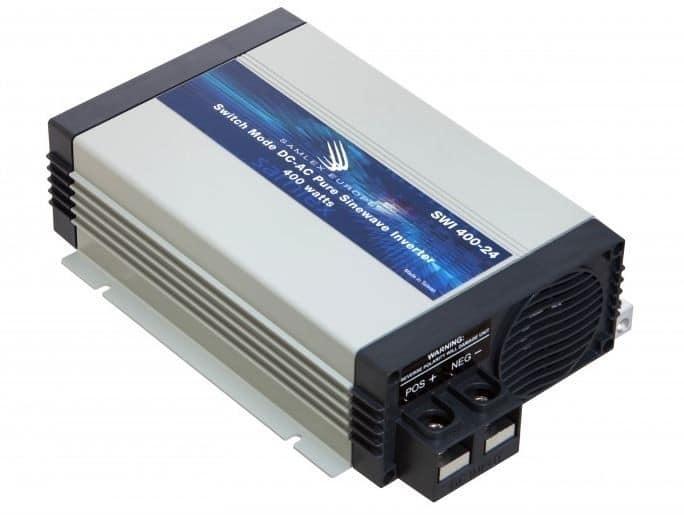 Samlex SWI 400-24 Zuivere sinus omvormer 24 naar 230 Volt 400 Watt-0