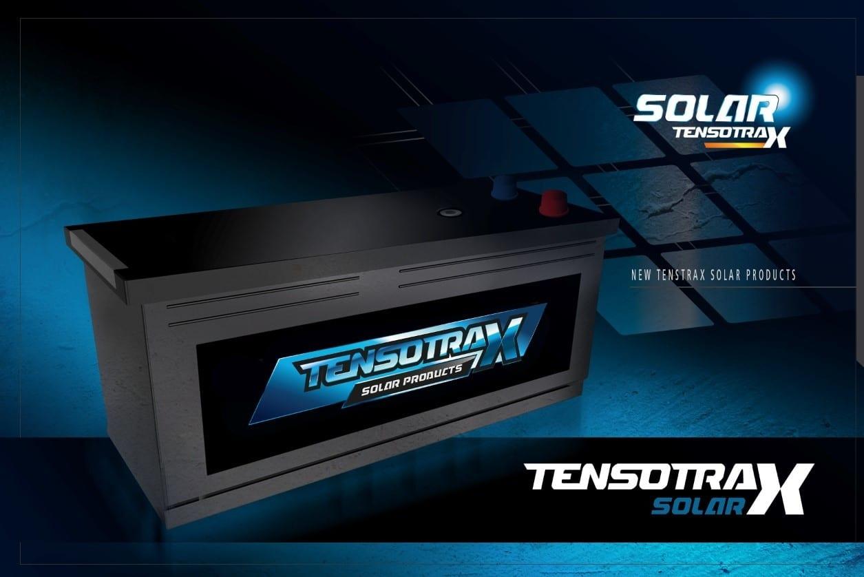 230Ah 12V AGM Solar Accu deep-cycle semi-tractie Tensotrax-0