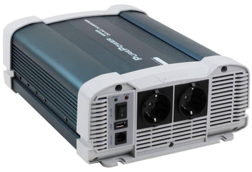 4000W 24V Continu Zuivere Sinus Omvormer (8000W Piekvermogen) + Kabels + Afstandsbediening-0