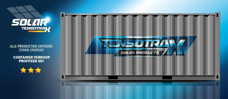 4 x 12 VOLT 250Ah Semi Tractie Accu ( Start / Licht ) onderhoudsvrij gesloten Tensotrax + WINDMOLEN 12V of 24V-3373